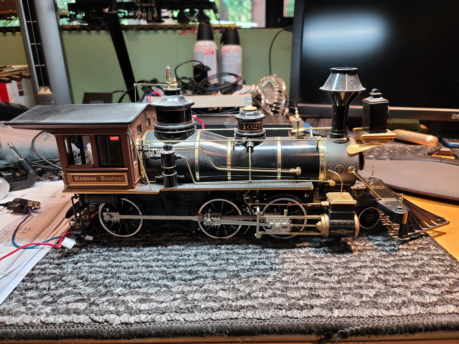 Backmann 2-6-0 Spectrum Mogul